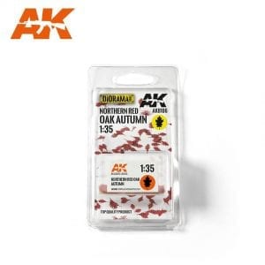 AK8106 northern red oak autumn akinteractive vegetation diorama