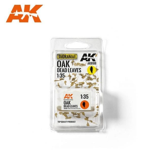 AK8108 oak dead leaves akinteractive diorama vegetation