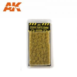 AK8125 STEPPE TUFTS 12mm akinteractive