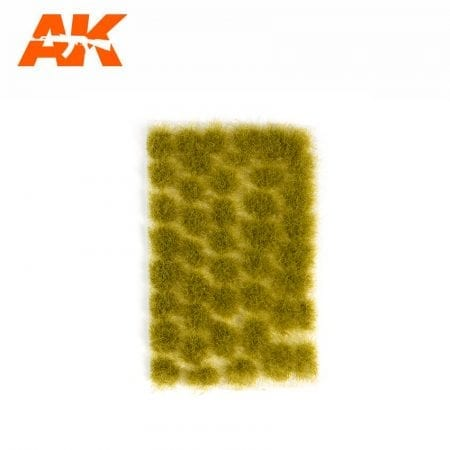 AK8127 Light Green Tufts