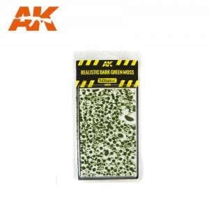 AK8131 REALISTIC DARK GREEN MOSS SET (Mininature) akinteractive