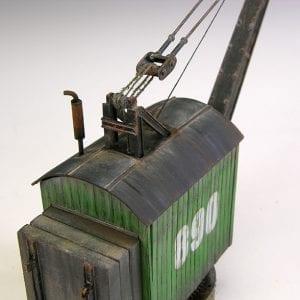 MP72-413 port crane train migproductions resin