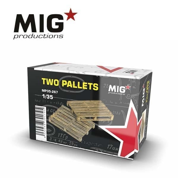 MP35-267 two pallets migproductions resin akinteractive diorama