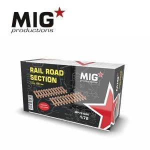 MP72-084 rail road section migproductions akinteractive diorama train civil port