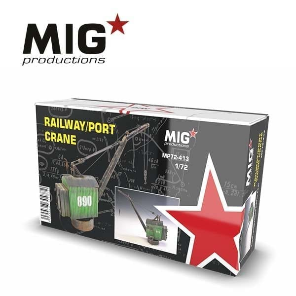 MP72-413 railway crane migproductions port akinteractive resin