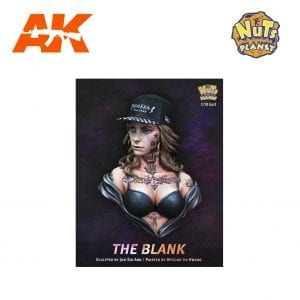 NP B037 the blank scale 1/10 akinteractive nuts planet