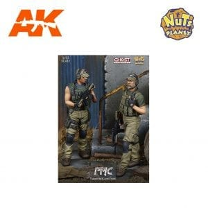 NP GC35001 PMC 1/35 AKINTERACTIVE NUTS PLANET RESIN SCALE