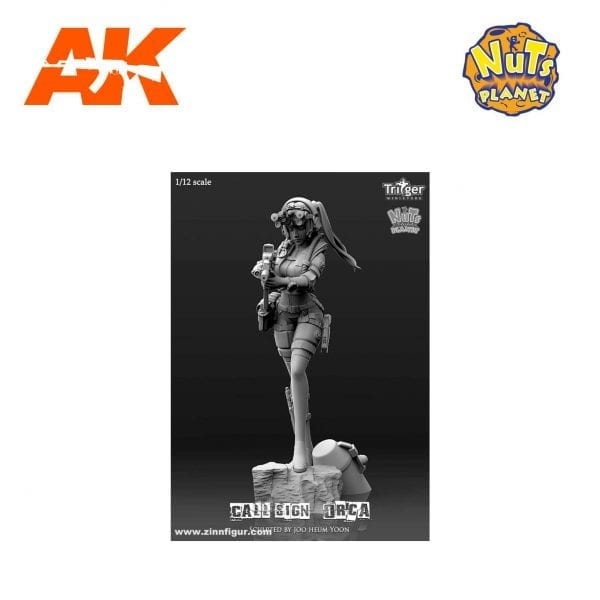 NP-T15004 nuts planet akinteractive resin figure