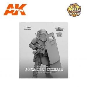 NP T75024 nuts planet ak-interactive 1/24 75mm advance guard barricade