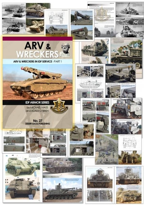 DEP27 DEP27 27 ARV & Wreckers in IDF Service desert eagle publications