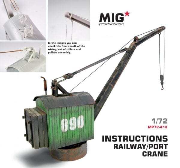 MP72-413 port crane train migproductions resin