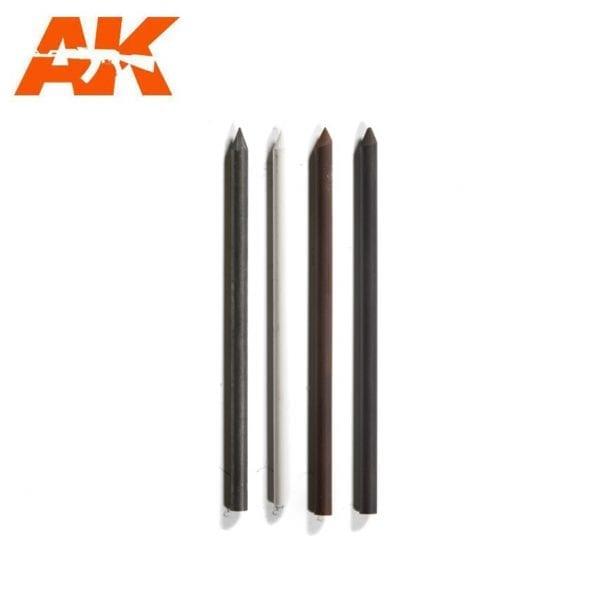 AK4188 lead weathering set hard akinteractive modelling fine