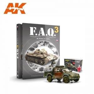 AKPACK27 faq3 hilux toyota afv military civil scale 1/35 modelling pack promo pack