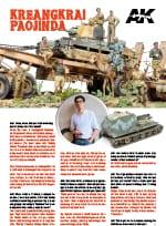 akinteractive Kreangkrai Paojinda figures tanker tank modellism interview