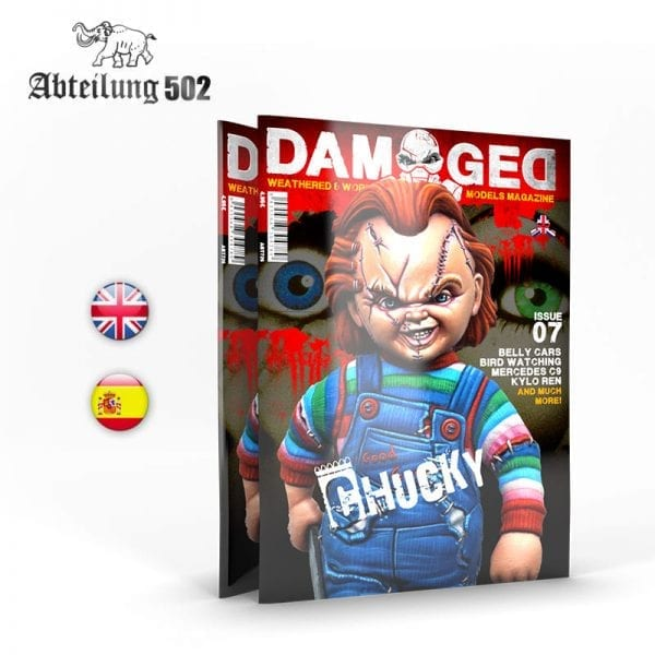 DAMAGED_07 chucky akinteractive blood abteilung502 english spanish magazine issue 7 damaged abteilung502