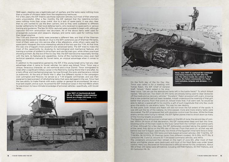 T-54/5 TO IDF TIRAN 4/5 THE BIRTH OF A BASTARD TANK