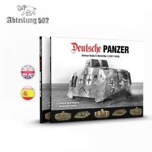 ABT720 deutsche panzer abteilung akinteractive book profile historical profile english spanish afv tank