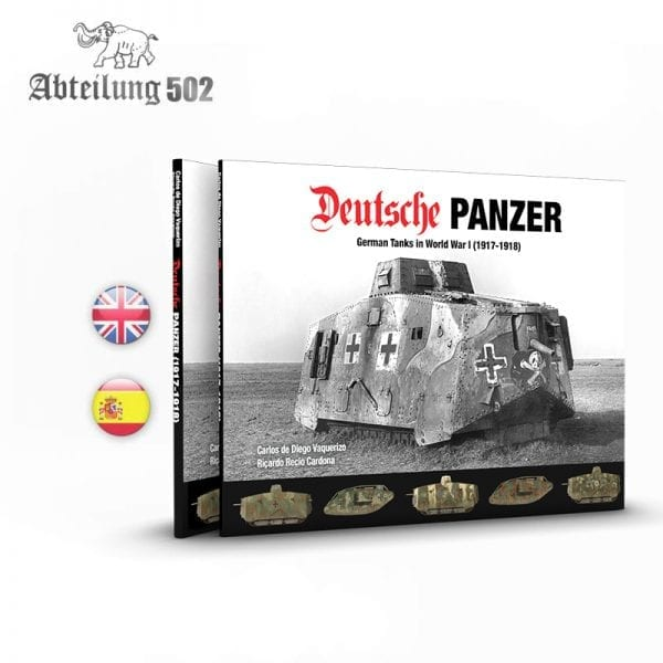 ABT720 deutsche panzer abteilung akinteractive book profile historical profile english spanish afv tank
