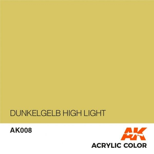 AK008 DUNKELGELB HIGH LIGHT