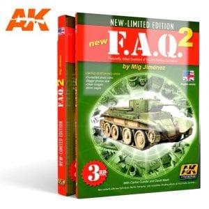 AK038 AFV modeling books akinteractive