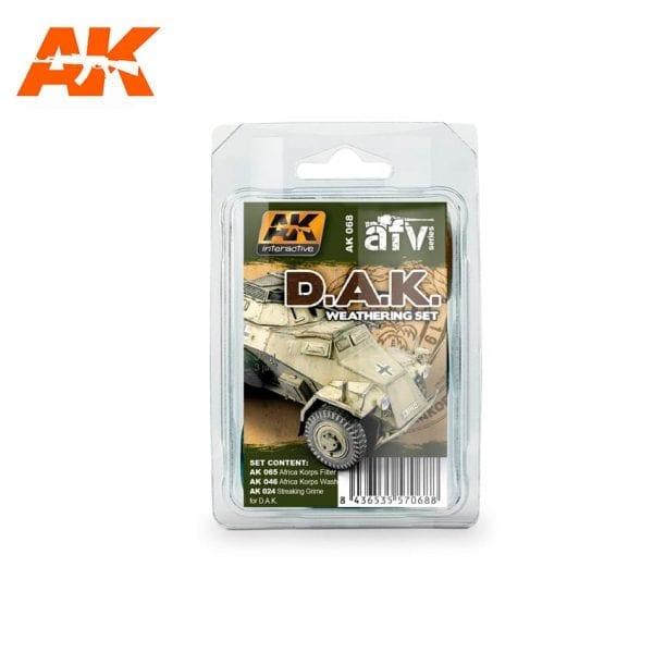 AK068 weathering products set akinteractive