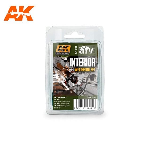 AK091 weathering products set akinteractive