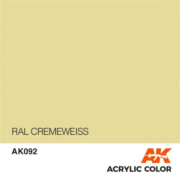 AK092 RAL CREMEWEISS