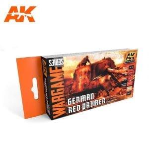 AK1124 acrylic paint set akinteractive modeling