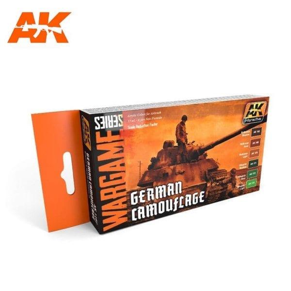 AK1167 acrylic paint set akinteractive modeling