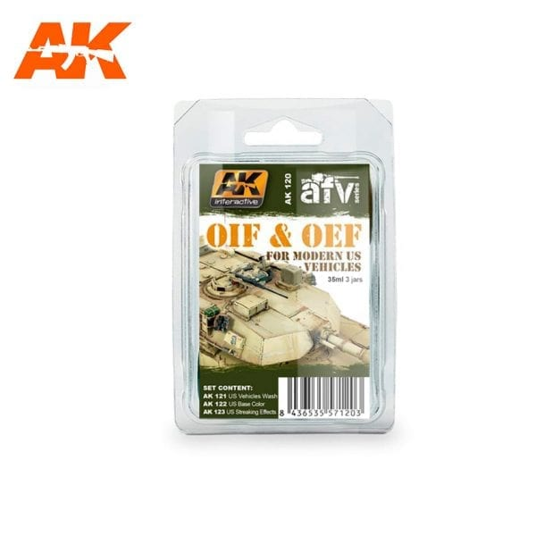 AK120 weathering products set akinteractive