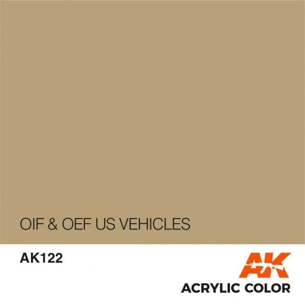 AK122 OIF & OEF US VEHICLES
