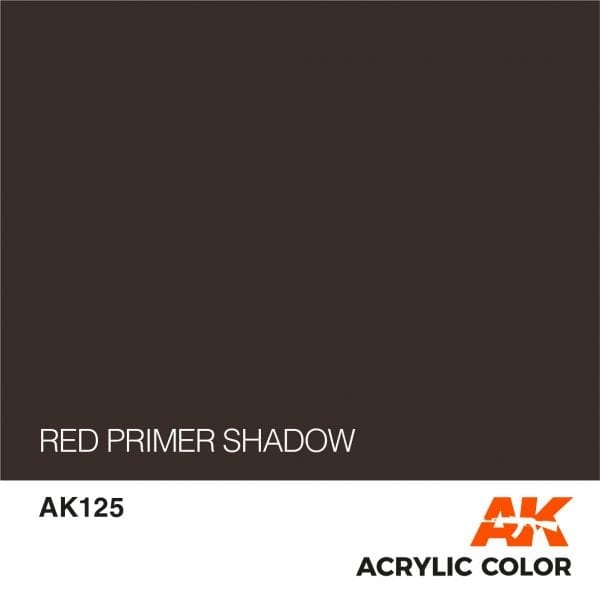 AK125 RED PRIMER SHADOW
