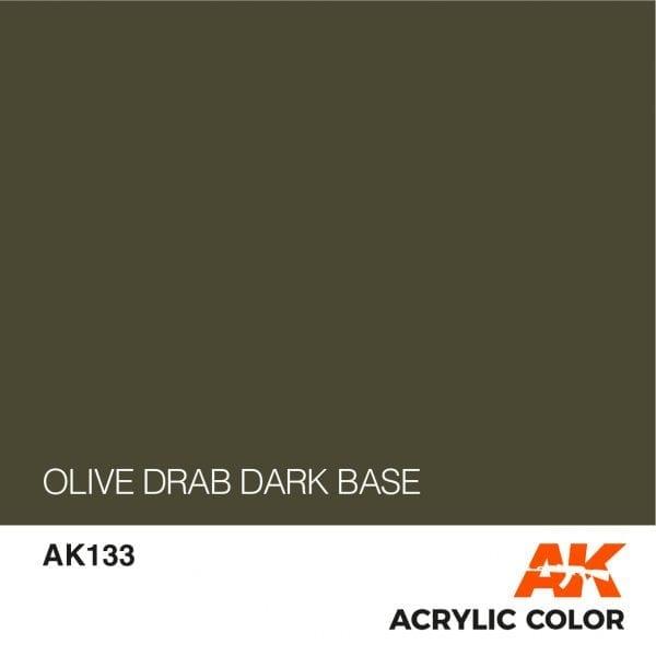 AK133 OLIVE DRAB DARK BASE