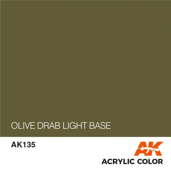 AK135 OLIVE DRAB LIGHT BASE