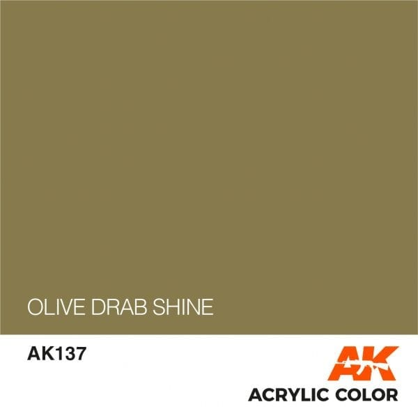AK137 OLIVE DRAB SHINE