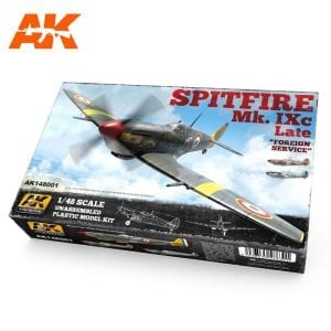 AK148001 akinteractive plastic model kit