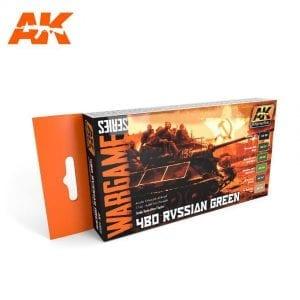 AK1553 acrylic paint set akinteractive modeling