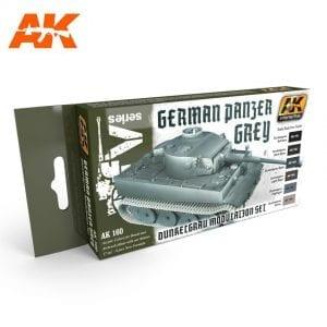 AK160 acrylic paint set akinteractive modeling