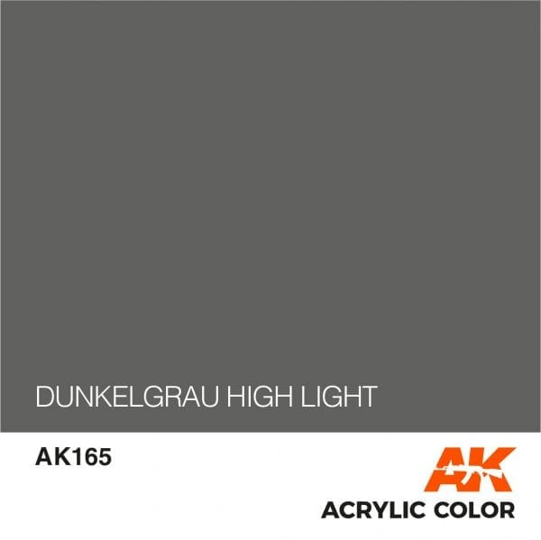 AK165 DUNKELGRAU HIGH LIGHT