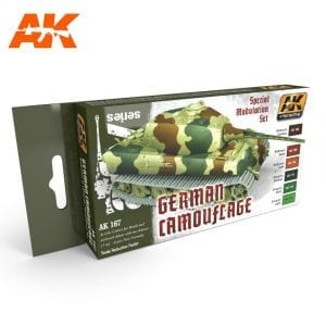 AK167 acrylic paint set akinteractive modeling