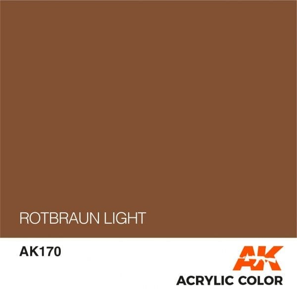 AK170 ROTBRAUN LIGHT
