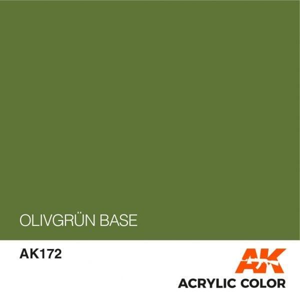 AK172 OLIVGRÜN BASE