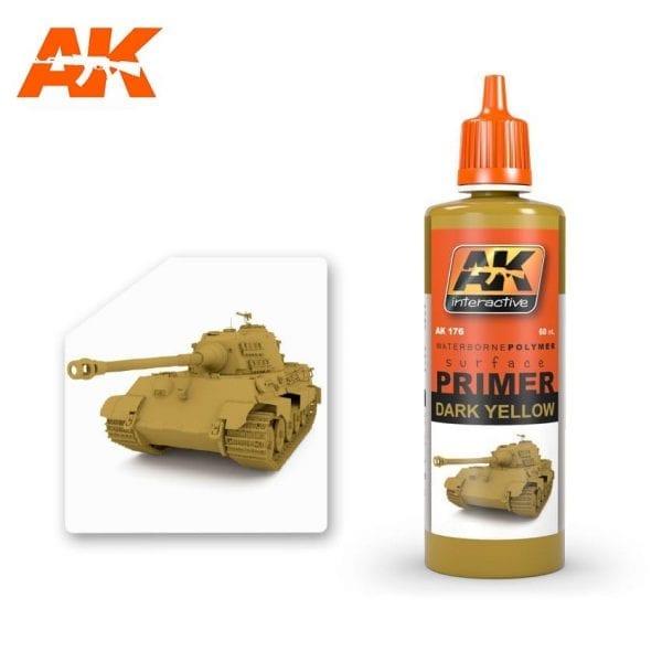 AK176 acrylic paint primer akinteractive modeling