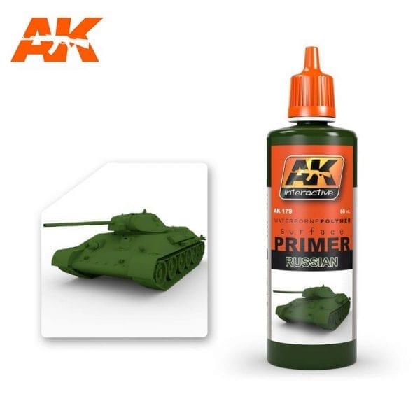AK179 acrylic paint primer akinteractive modeling