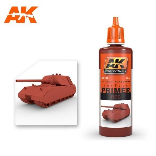 AK180 acrylic paint primer akinteractive modeling