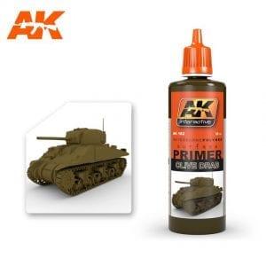 AK182 acrylic paint primer akinteractive modeling