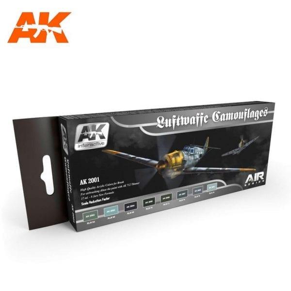 AK2001 acrylic paint set akinteractive modeling