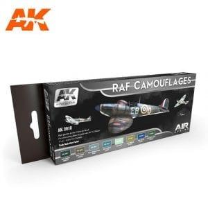 AK2010 acrylic paint set akinteractive modeling