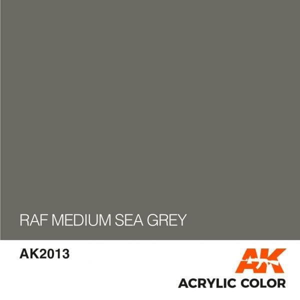 AK2013 RAF MEDIUM SEA GREY