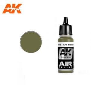AK2016 acrylic paint air akinteractive modeling
